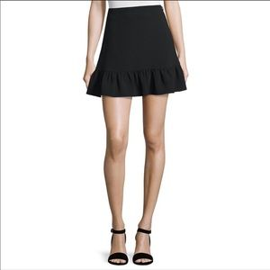 Elizabeth and James Piper Flounce-Hem Mini Skirt 6